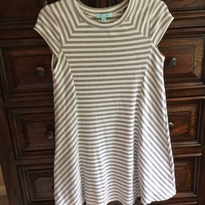 She and Sky Dresses - She & Sky striped mini dress